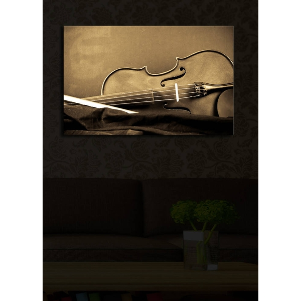 4570?ACT-15 Multicolor Decorative Led Lighted Canvas Painting