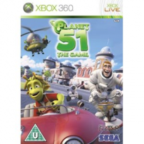 Planet 51 Game Xbox 360
