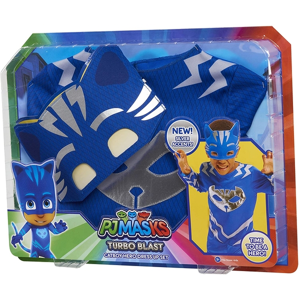 PJ Masks Turbo Blast Catboy Costume Set
