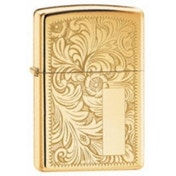 Zippo Venetian High Polish Brass Lighter