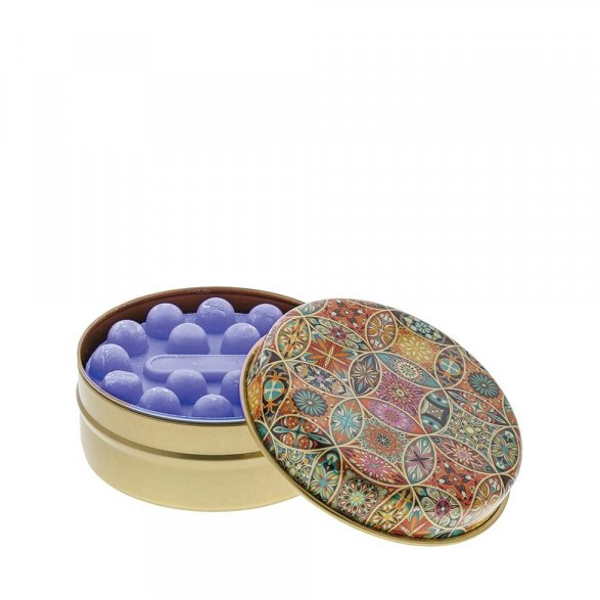 Multi Coloured Circles with Lavender Soap
