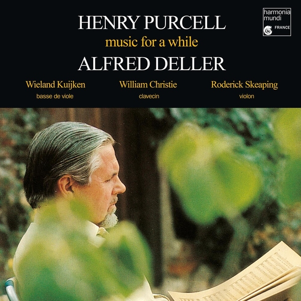 Purcell / Alfred Deller - Music For A while Vinyl
