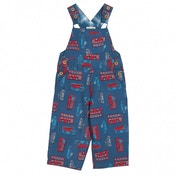 Kite Kids Baby-Boys 12-18 Months Toy Transport Dungarees