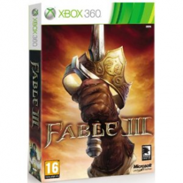 Fable III 3 Collector's Edition Game Xbox 360
