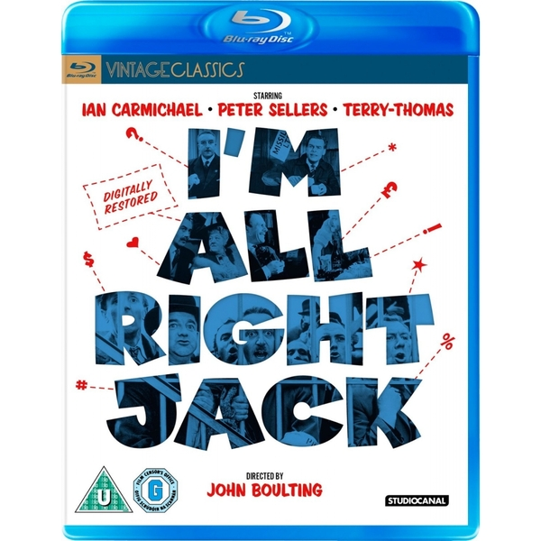I'm Alright Jack - Digitally Restored Blu-ray