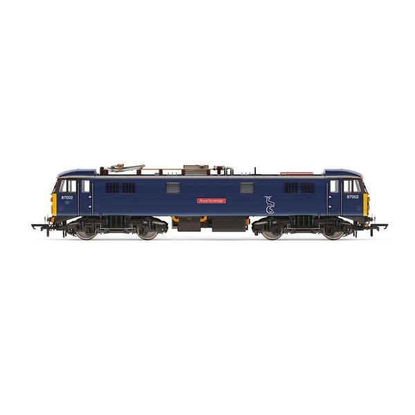 Hornby Caledonian Sleeper Class 87 Bo-Bo 87002 'Royal Sovereign' Era 10 Model Train
