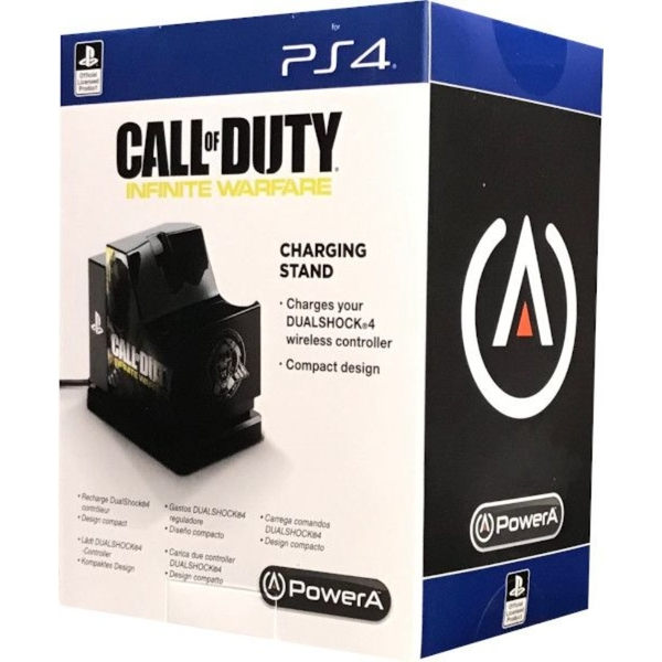 PowerA Call of Duty Infinite Warfare USB Charging Stand for PS4