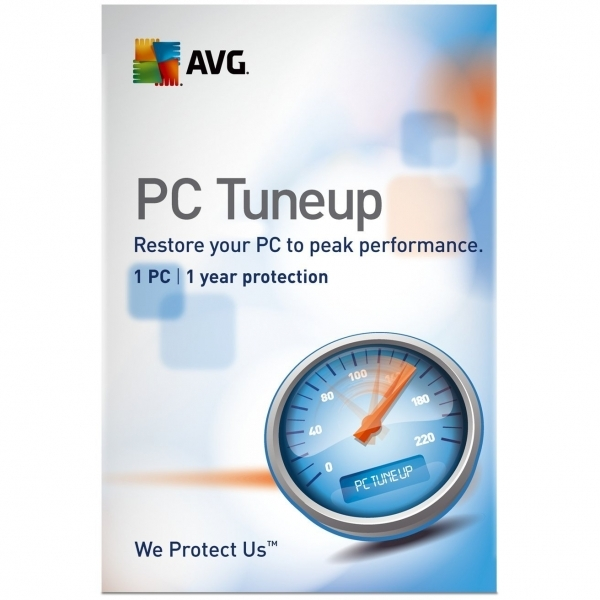 AVG PC TuneUp 1 user 1 Year License PC