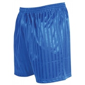 Precision Striped Continental Football Shorts 18-20 inch Royal Blue