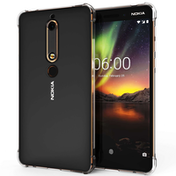 Nokia 6 (2018) Alpha TPU Gel - Clear