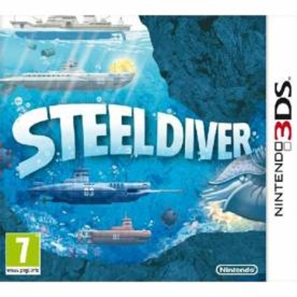 Steel Diver Game 3DS - Image 1