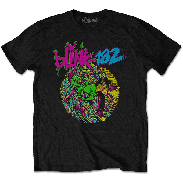 Blink-182 - Overboard Event Unisex Small T-Shirt - Black