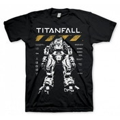 Titanfall Atlas T-Shirt Medium Black