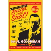 Breaking Bad - Better Call Saul Attorney At Law Maxi Poster