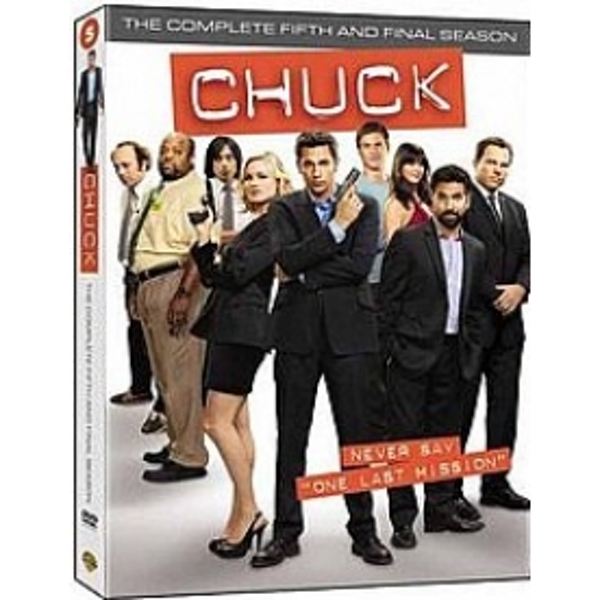 Chuck Complete Series 5 DVD