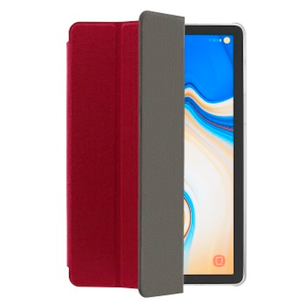 Hama Suede Style 10.5 Inch Tablet Case (Backrest, Samsung, Galaxy Tab S4, 26.7 cm (10.5 Inch), 130 g, Red) Red