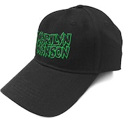 Marilyn Manson - Logo Men's Baseball Cap - Black