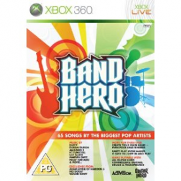 Band Hero Solus Game Xbox 360 - Image 1