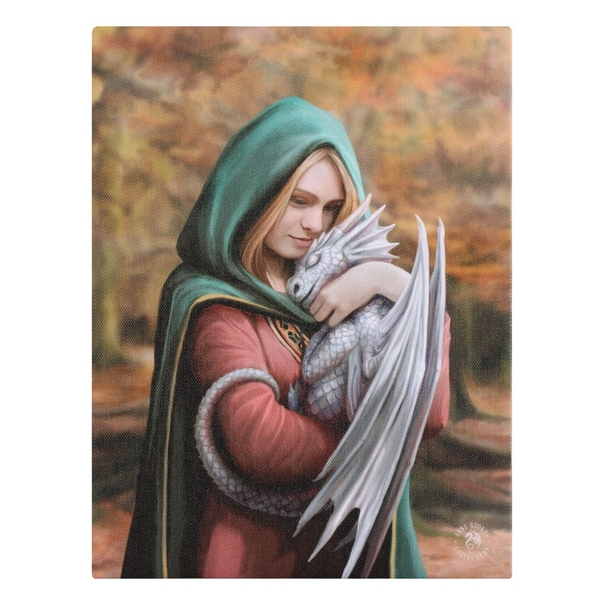 Safe Haven Canvas by Anne Stokes