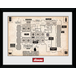 The Shining Map Framed Collector Print - Image 2