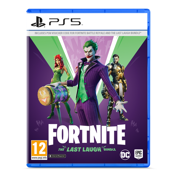 Fortnite The Last Laugh PS5 Game [Code In A Box]