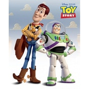 Toy Story Woody & Buzz Mini Poster