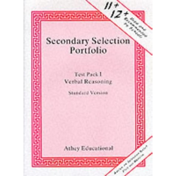 Secondary Selection Portfolio  1993 Loose-leaf