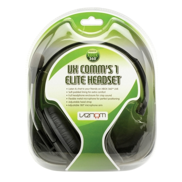 Venom VX Comms 1 Elite Headset Xbox 360 - Image 2