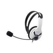 Official Licensed PS4 Wired Chat Headset White for PS4
