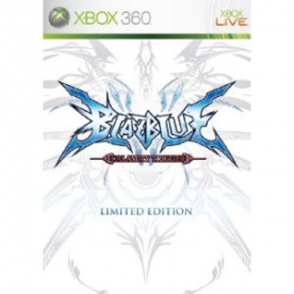Blazblue Calamity Trigger Limited Edition Game Xbox 360