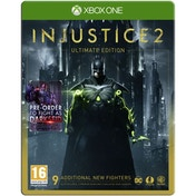 Injustice 2 Ultimate Edition Xbox One Game (Darkseid DLC)