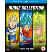 Dragon Ball Movie Trilogy (Battle Of Gods, Resurrection ?F?, Broly)