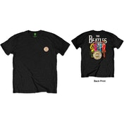 The Beatles - Sgt Pepper Men's X-Large T-Shirt - Black