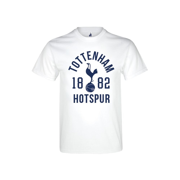 Spurs 1882 T Shirt Youths White 12-13 Years