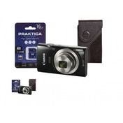 Canon IXUS 185 Camera Kit inc 16GB SD Card and Case Black