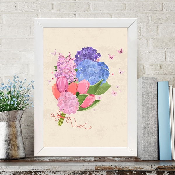 BC63721865 Multicolor Decorative Framed MDF Painting