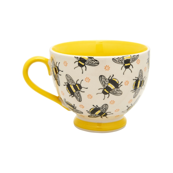 Sass & Belle Busy Bees Stamped Mug