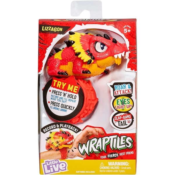 Little Live Pets - Wraptiles Lizzagon