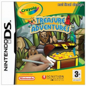 Crayola Treasure Adventures Game DS