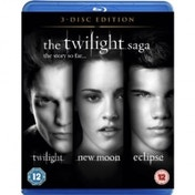 The Twilight Saga Triple Pack Blu-Ray