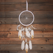 Dream Catcher White Suede
