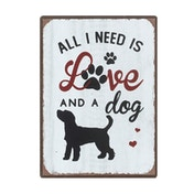 All I Need Is Love & a Dog Magnet by Heaven Sends