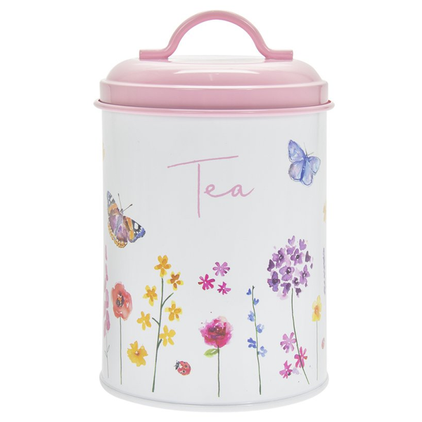 Butterfly Garden Tea Canister by Lesser & Pavey