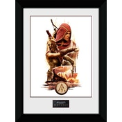 Assassins Creed Odyssey Collage Framed Collector Print