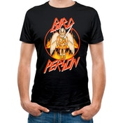 Rick And Morty - Bird Person Men's Large T-shirt - Black