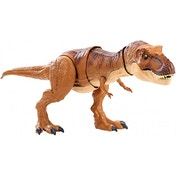 Ex-Display Jurassic World Tyrannosaurus Rex Thrash 'N Throw Dinosaur Figure Used - Like New