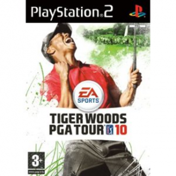Tiger Woods PGA Tour 10 Game PS2