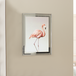 A4 Photo Certificate Mirrored Glass Frame | M&W - Image 4