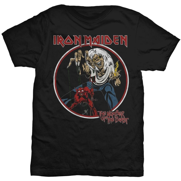 Iron Maiden - Number of the Beast Unisex XX-Large T-Shirt - Black