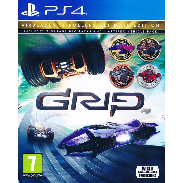 Grip Racing Airblades vs Rollers Ultimate Edition PS4 Game